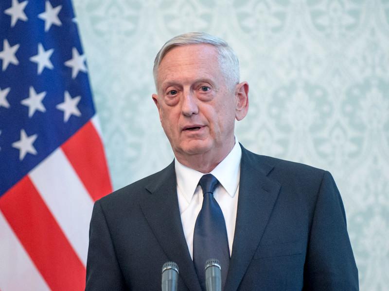 США не обеспокоены поставками российского оружия на Филиппины, заявил глава Пентагона Джеймс Мэттис