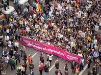Как сообщает британская телерадиокомпания BBC, в стачке, организованной местными профсоюзами и националистическими движениями, участвуют многие организации и предприятия