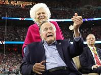 Вторая актриса обвинила Буша-старшего в домогательстве, и его представителям пришлось вторично извиняться