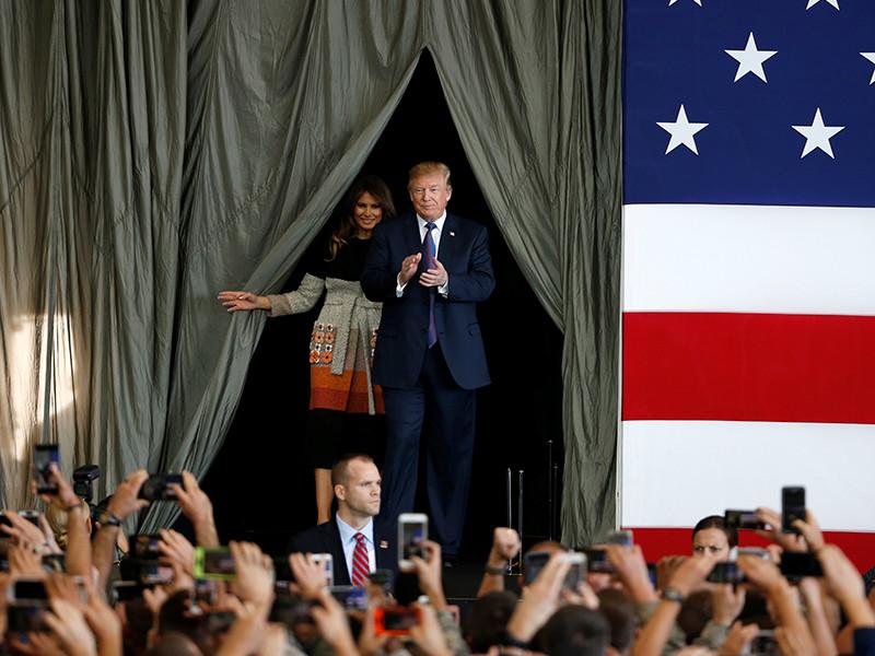 Президент США Дональд Трамп по итогам девяти месяцев на посту оказался самым непопулярным среди американских лидеров за последние 70 лет