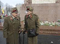 Каждый год 16 марта в Риге проходит шествие бывших участников латышского легиона СС и их сторонников