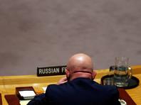 Россия заблокировала японскую резолюцию о краткосрочном продлении расследования химических атак в Сирии