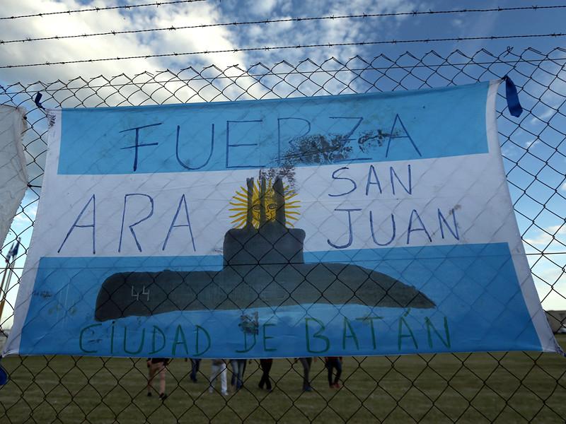 Субмарина перестала выходить на связь 15 ноября при переходе из военно-морской базы Ушуайя в Мар-дель-Плата