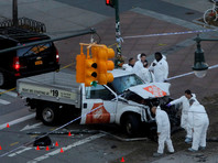 В Генконсульство РФ в Нью-Йорке не поступала информация о пострадавших при теракте россиянах