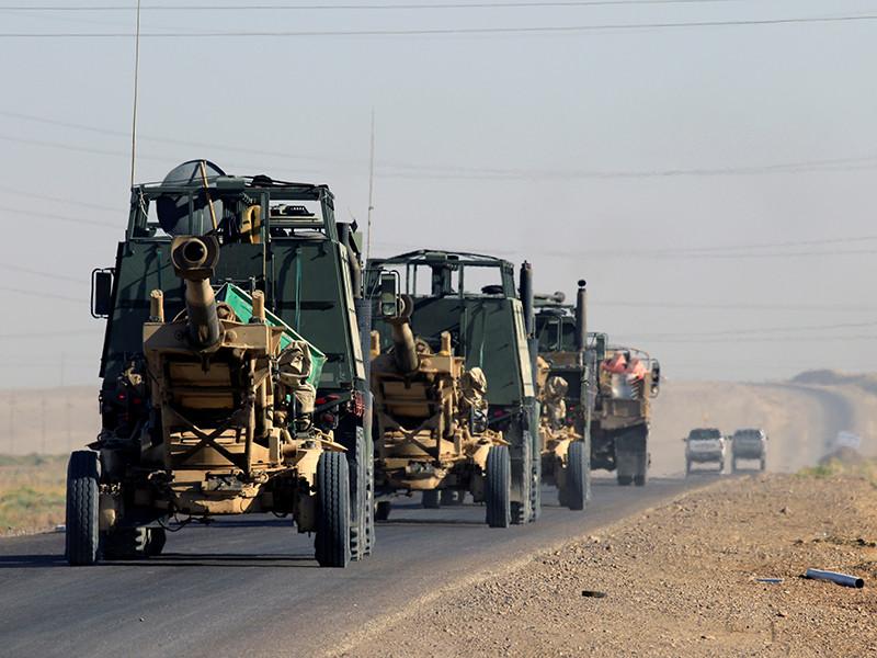 """Иракские военные в пятницу, 17 ноября, взяли под свой контроль город Рава на западе страны на территории мухафазы (провинции) Анбар - последний город на территории страны, находившийся под контролем """"Исламского государства""""*"""