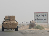 В сирийском городе Дейр-эз-Зор нашли микроавтобус, начиненный взрывчаткой, в котором также находился боеприпас с химическими веществами