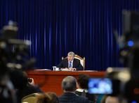 """В ходе итоговой пресс-конференции Атамбаев снова обвинил Казахстан. Он назвал действия Астаны на границе """"блокадой"""", однако выразил уверенность в том, что ситуация с РК должна наладиться"""