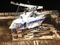 Норвежцы передали России черные ящики вертолета, разбившегося у Шпицбергена
