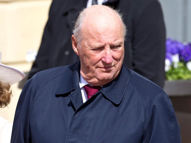 Король Норвегии 80-летний Харальд V попал в больницу с инфекцией