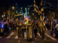 Жизнь продолжается: в Нью-Йорке, несмотря на теракт, не стали отменять традиционный парад ряженых в честь Хеллоуина (ФОТО, ВИДЕО)