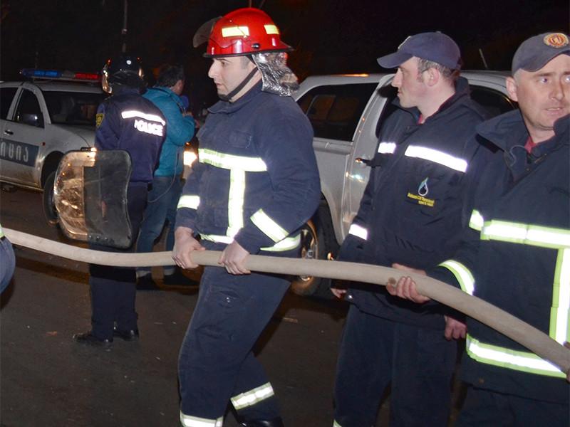 МВД Грузии подтвердило гибель 11 человек при пожаре в гостинице Батуми