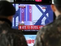 КНДР произвела запуск баллистической ракеты