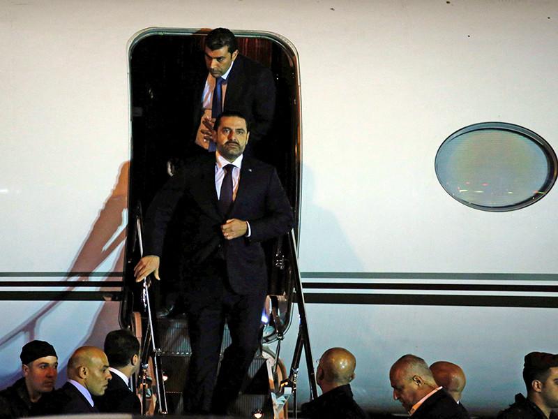 Ливанский премьер Харири вернулся на родину впервые после объявления о своей отставке