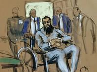 На предварительных слушаниях в суде Нью-Йорка террорист Саипов не раскаялся. Прокуратура огласила данные его допросов