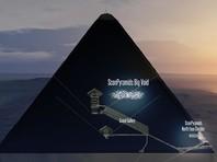 Ученые обнаружили ранее неизвестную комнату в пирамиде Хеопса