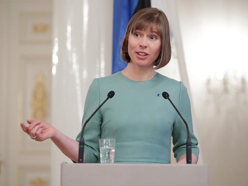 Президент Эстонии Керсти Кальюлайд заявила о том, что вопрос о либерализации визового режима для российских туристов, приезжающих в ее страну, полностью зависит от политики России