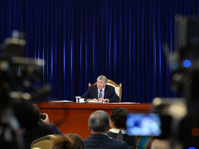 Президент Киргизии, покидая пост, вспомнил Евангелие и попросил прощения
