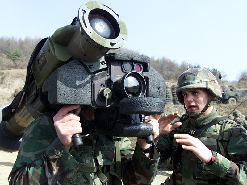 Госдеп одобрил поставку Грузии противотанковых ракет Javelin