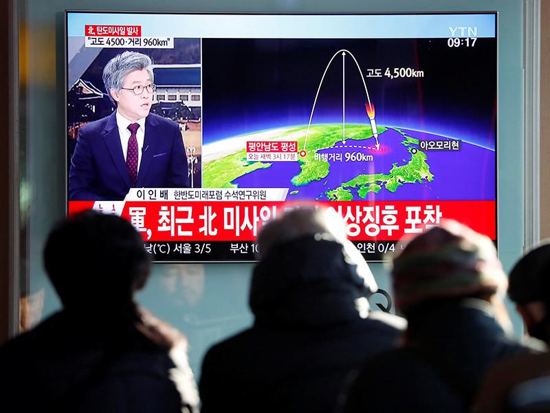 """Трамп анонсировал новые санкции против КНДР и призвал Китай положить конец """"провокациям Пхеньяна"""""""