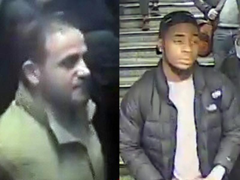 """""""Полицейские считают, что между двумя мужчинами произошла потасовка на платформе. Они бы хотели поговорить с этими двумя людьми с камер наблюдения, которые, как они полагают, могут иметь информацию об инциденте и его обстоятельствах"""", - говорится в заявлении полиции"""