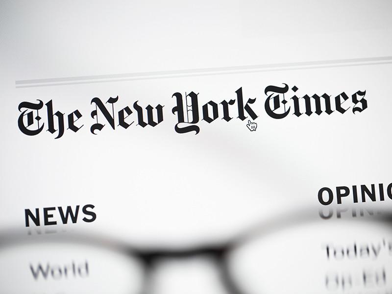 The New York Times объяснила ситуацию с картой  с Крымом как спорной территорией