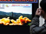 """КНДР объявила об успешном испытании межконтинентальной баллистической ракеты """"Хвасон-15"""""""