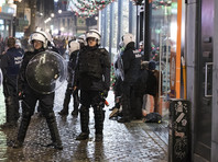 Полиция отчиталась о восстановлении порядка в центре города