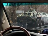 Наблюдатели ОБСЕ сообщили вечером 21 ноября, что в этот день видели колонну военной техники, которая направлялась в Луганск