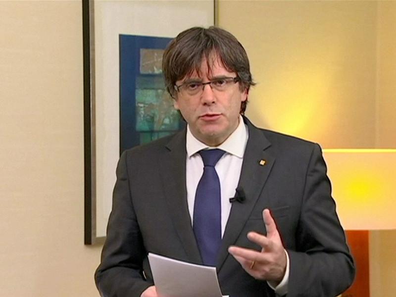 Национальная судебная коллегия Испании постановила выдать ордер на арест отстраненного от должности главы Каталонии Карлеса Пучдемона
