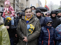 """Саакашвили говорит, что готов возглавить правительство Украины. Просит """"поднимать людей"""""""