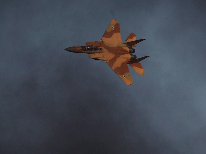 Израильские ВВС нанесли воздушный удар по Сирии