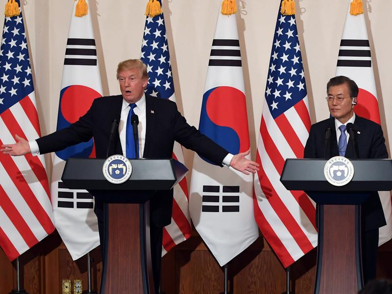 Трамп вновь пригрозил КНДР из Южной Кореи