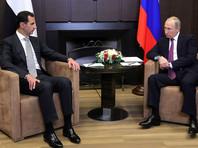 Встреча Путина с Асадом прошла 20 ноября в Сочи. В ходе переговоров президент Сирии поблагодарил Москву за помощь, которую она оказала Дамаску в борьбе с террористами в САР. Путин заявил, что военная операция в Сирии близится к концу