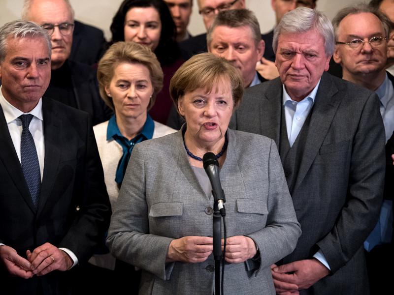 """В ЕС назвали провал переговоров по формированию правительства в Германии """"плохой новостью для Европы"""""""