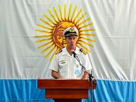 """Официальный представитель ВМС Аргентины Энрике Бальби предположил, что кто-то из экипажа пропавшей дизельной подлодки """"Сан-Хуан"""" может быть еще жив на 11 день поисковой операции"""