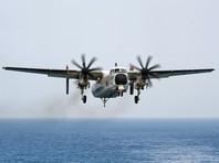 Самолет ВМС США разбился в Тихом океане по пути к авианосцу Ronald Reagan: есть выжившие