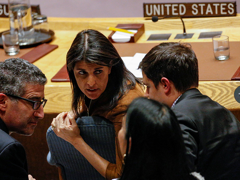 США заблокировали российское заявление в ООН по атаке на посольство РФ в Дамаске