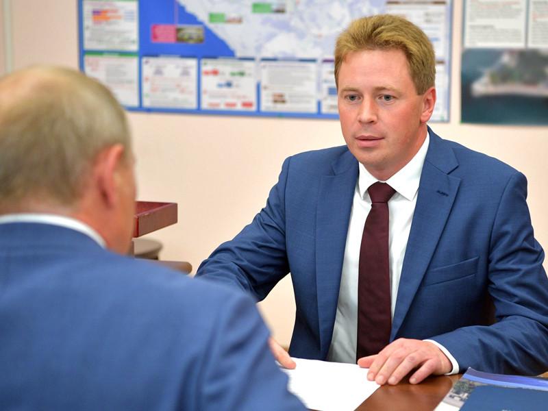 Владимир Путин и Дмитрий Овсянников, 18 августа 2017 года