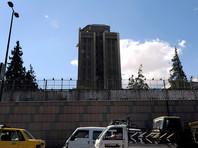 В ограждение посольства РФ в Дамаске попала 122-миллиметровая мина