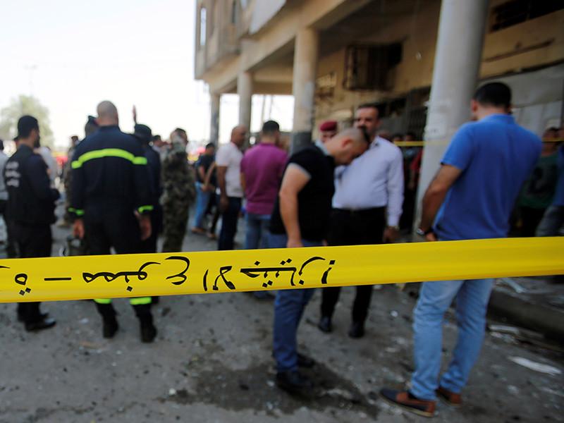 В районе Нахраван на юго-востоке иракской столицы Багдада в понедельник, 27 ноября, произошел теракт