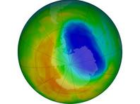 NASA сообщило об уменьшении озоновой дыры над Антарктикой до размеров 1988 года