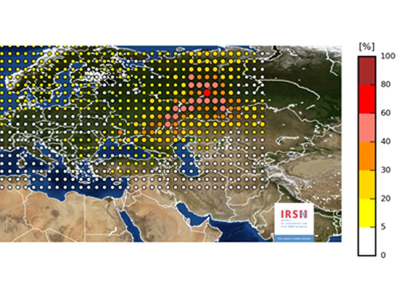 Утечка изотопа рутения-106 произошла на объекте между Волгой и Уралом в последнюю неделю сентября, считают эксперты