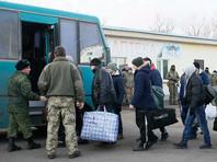 """Как сообщалось, обмен пленными проходил на КПП """"Майорск"""" в пригороде Горловки. Процедура обмена, начавшаяся около 14:30 по московскому времени, завершилась за три часа"""