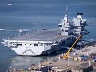 Торжественно спущенный на воду в начале декабря крупнейший авианосец Великобритании дал течь