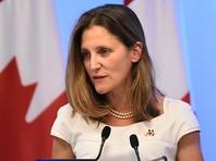 В Оттаве решили выдворить и объявить персоной нон грата посла Венесуэлы в Канаде в ответ на аналогичные действия Каракаса в отношении канадского дипломата. Об этом в понедельник, 25 декабря, сообщила министр иностранных дел Канады Христя Фриланд