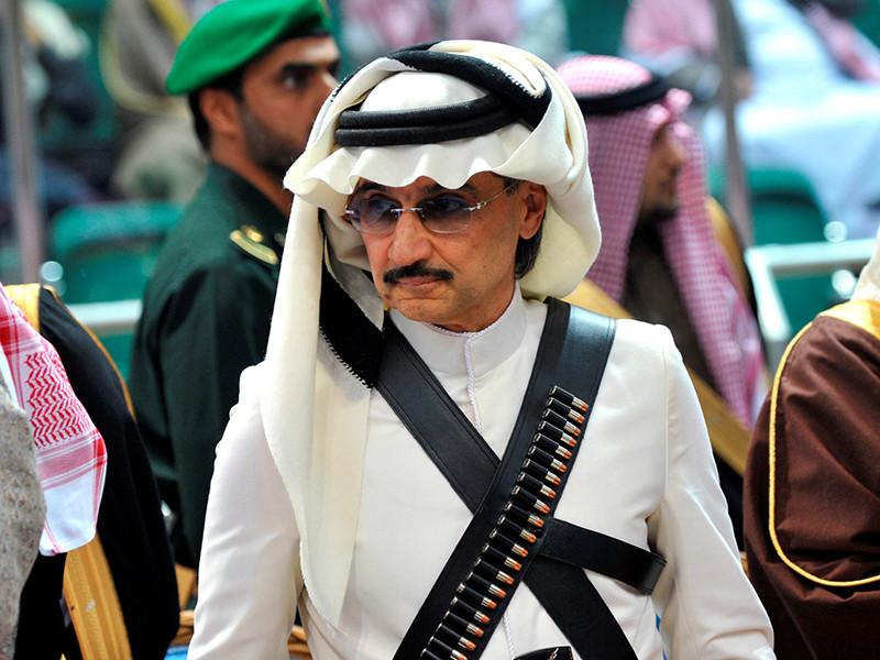 6 млрд долларов за свободу требуют власти от саудовского принца Аль-Валида