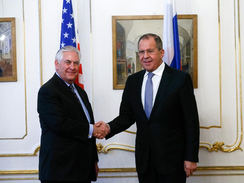 """Лавров рассказал о планах Вашингтона совершить """"сделку века"""" для решения палестино-израильской проблемы, которыми поделился с ним на встрече госсекретарь США Рекс Тиллерсон"""