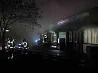 В Лондоне загорелся зоопарк