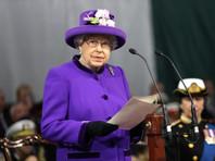 Ее Величество Елизавета II менее двух недель назад лично приняла участие в торжественном спуске авианосца на воду