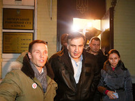 Суд в Киеве отпустил Саакашвили на свободу